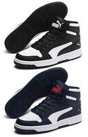 PUMA REBOUND LAYUP SL scarpe uomo sportive sneakers alte mid pelle stringhe