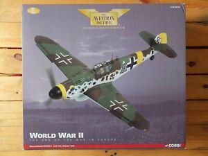 CORGI AA34905 - MESSERSCHMITT BF109G-6 2./JG302 OCTOBER 1944 - 1/32 MINT