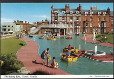 Norfolk Postcard - The Boating Lake, Cromer   BX729