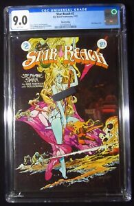 Star Reach #2 (1977 third print) CGC 9.0...Sexy Neal Adams cover