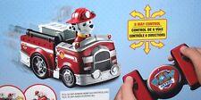 Paw Patrol Marshall Radio Control Fire Truck 2.4GHz Remote Age 3 + Gift Idea