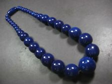 N4954 TIBET BOLD FASHION Tribal Resin Round Beads Runway Necklace India Jewelry