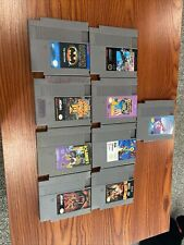 nes game lot 9 Games