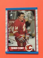 Theoren Fleury Rookie 1989-90 O-Pee-Chee Hockey Card #232