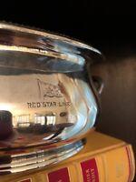 Antique Elkington & Co. Cunard Steamship Ocean Liner Silver Plated Soup Tureen