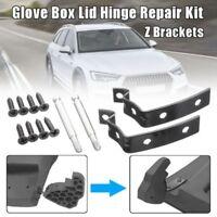 For AUDI A3 A4 S4 B6 B7 Glove Box Lid Hinge Snapped Repair Fix Kit Brackets