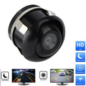 Mini 360 ° CCD HD Auto Rückfahrkamera Vorderseite Einparkkameras Nachtsicht