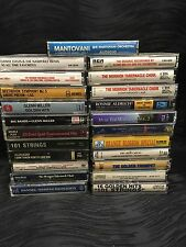 Vintage Cassette Music Tapes Lot of 23 Classical Orchestra 101 Strings Miller