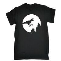 Funny Novelty T-Shirt Mens tee TShirt - Dino Across The Moon