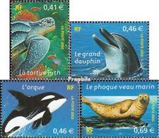 Frankrijk 3622-3625 gestempeld 2002 Conservation