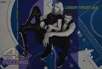 JUSTIN TIMBERLAKE & MADONNA - A3 Poster (42 x 28 cm) - Clippings Fan Sammlung