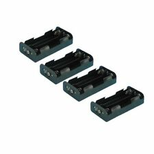 Battery holder 4 x D Cell (6V) with PP3 Studs pack of 4 battery holders