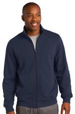 Sport Tek Men's Big & Tall Full Zip Sweatshirt Winter Jacket LT-4XLT. TST259