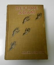 1907 BEFORE ADAM by Jack London Hardcover 1st Edition VG
