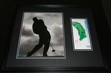 Jim Furyk Signed Framed 16x20 Photo Display
