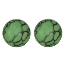 Apple Green Magnetic Earrings Nonpierced