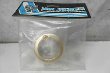 "Harley Davidson Drag Specialties Gold Turn Signal 1 1/2"" Light Trim Ring"