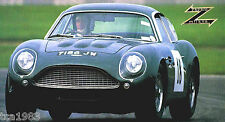 1960/1961/1962/1963 Aston Martin Db4 Gt Zagato Spec Feuille / Brochure
