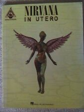 "Nirvana ""In Utero"" 1994 Songbook 109 Pages Mint Kurt Cobain"