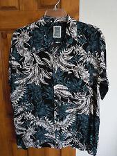 c3f664eb3732d Ocean Current mens short sleeve button-down hawaiian style shirt size M