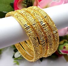 Indian Asian Size:2.6 Bridal Jewellery Ethnic Wear 22ct Gold Plated Bangles