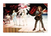 Slade (2) A4 signed mounted photograph picture poster. Choice of frame.
