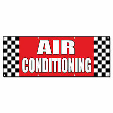 Air Conditioning Auto Body Shop Car Repair Banner Sign 2 ft x 4 ft /w 4 Grommets