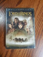 Lord of the Rings: Fellowship Of The Ring 2-Disc Dvd Sealed Full Screen, New