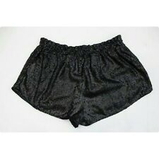 URBAN OUTFITTERS Small SILENCE & NOISE BLACK SEQUIN TAP SHORTS elastic dance