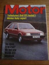 MOTOR 28.2.81 VW GOLF GTi TURBO ,    jm