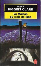 """""""La maison du clair de lune"""". Mary Higgins Clark (Le Livre de Poche)"""