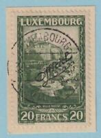 LUXEMBOURG O180 USED NO FAULTS EXTRA FINE !