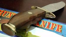BEAR-HUNTER HUNTING BOWIE KNIFE W/ SHEATH CASE FIXED BLADE !!!