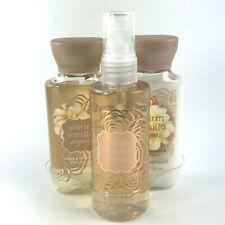 Bath and Body Works Warm Vanilla Sugar Travel Size 3 Pcs Gift Set