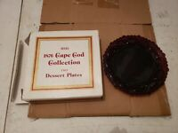 1 AVON CAPE COD DESSERT PLATE IN ORIGINAL BOX