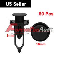 50 Pcs New Push-Type Fastener Rivet Retainer Clips for Toyota 52161-02020