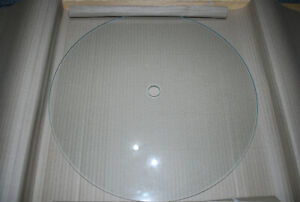 Precision Ground Glass Disc TB00150B  spare part for TB4 Tablet counting machine