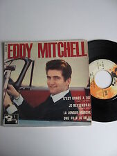 EDDY MITCHELL FRENCH EP DES 60's - TBE - BARCLAY 70564
