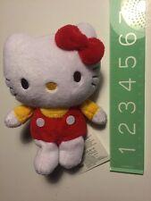 "Rare Htf Sanrio Original Hello Kitty Plush 5""  2011 Mini Cute Soft New Doll"