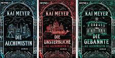 Die Alchimistin Die Unsterbliche Die Gebannte Kai Meyer Alchimistin Serie