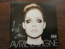 Avril Lavigne by Avril Lavigne cd signned autographed by artist