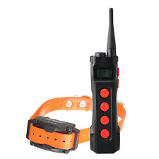 Aetertek 919C Dog Trainer Shock Collar Auto Anti Bark LCD Remote Hunting Dog