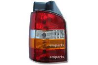 VW Caravelle T5 Rear Back Tail Light Lens Lamp 2003 – 2010 Left N/S Orange