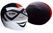 Harley Quinn Helmet Cover Motorcycle Full Face Skin Street Sport Bike NEW +