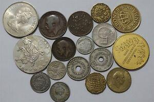 HUNGARY + DENMARK + NORWAY + EUROPE COINS LOT B38 MMM15