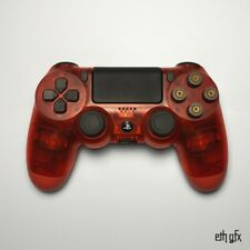 Custom Sony PS4 Slim Controller Special Edition Red
