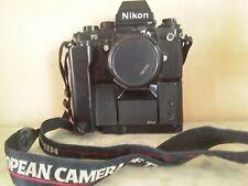 NIKON F3 HP avec moteur MD4 et nikor 50mm.1.8.. Pied.déclencheur.