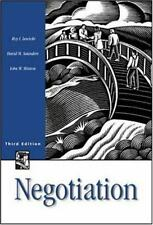 Negotiation Lewicki, Roy J, Minton, John W, Saunders, David M Paperback