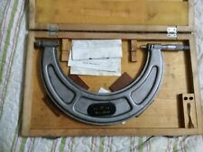 """NEW Fowler 8-9/"""".0001/"""" Outside Inch Micrometer 522400091"""