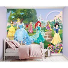 Princesa Disney Mural Para Pared Niños Habitación Niña Feature secoración de